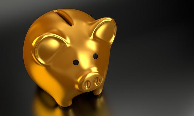 zlaté prasátko pokladnička