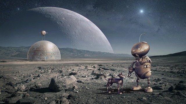Roboti mimo Zemi