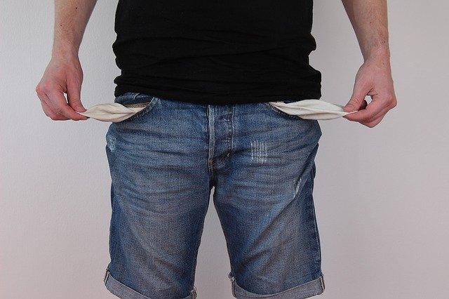 Člověk bez peněz