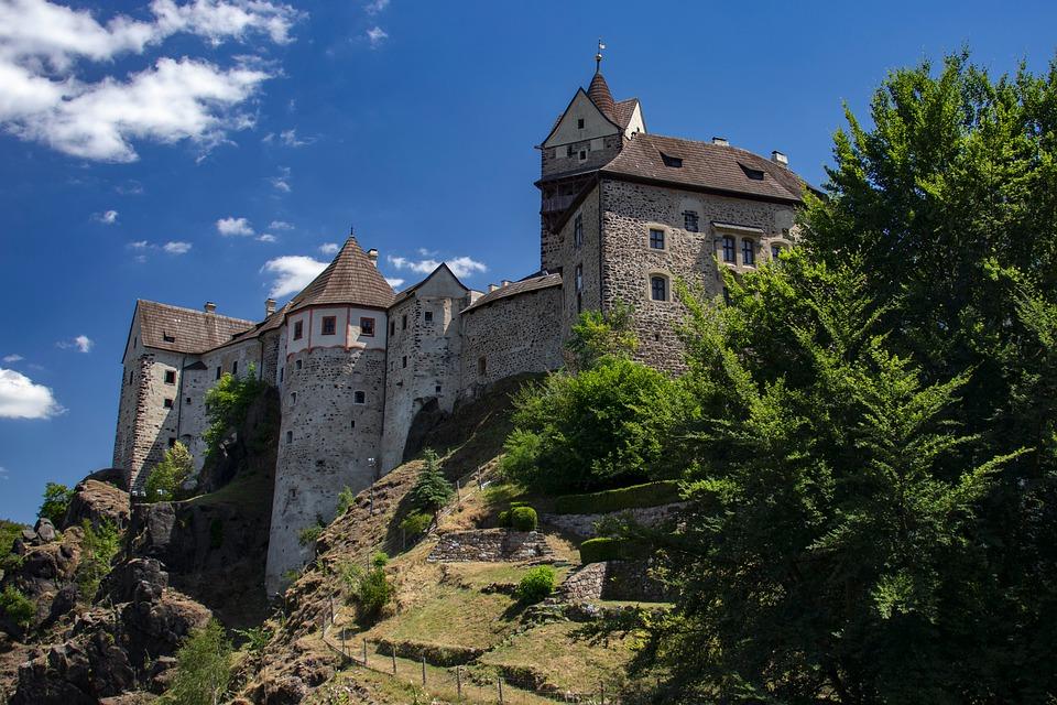 Ubytování v Lokti nad Ohří, v přírodní scenérii Slavkovského lesa